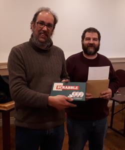 All Ireland Scrabble Tournament 2019 - Darius Bartlett